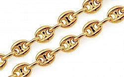 Zlatá retiazka Marina Gucci 4,5 mm IZ11495