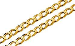 Zlatá retiazka Pancier 3 mm IZ4353