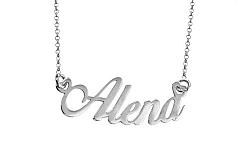 Zlatá retiazka s menom Alena IZ8078A