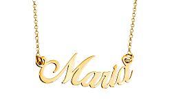 Zlatá retiazka s menom Mária IZ7884
