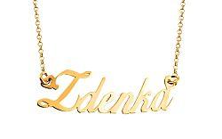 Zlatá retiazka s menom Zdenka IZ7892