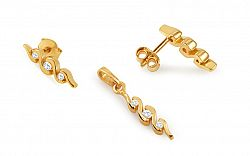 Zlatá súprava s diamantmi BSBR043S