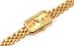 Zlaté dámske hodinky Geneve IZ11466