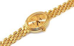 Zlaté dámske hodinky Geneve IZ9344