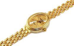 Zlaté dámske hodinky Geneve IZ9345