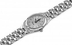 Zlaté dámske hodinky Treasure time white IZ7733