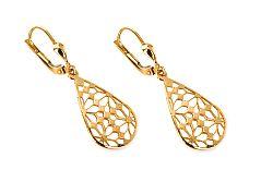 Zlaté dámske náušnice Dominika IZ6251
