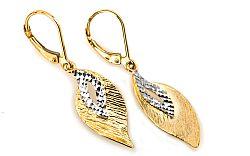 Zlaté dámske náušnice Katarína 6 IZ5596