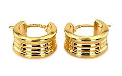 Zlaté dámske náušnice kruhy IZ3216