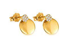 Zlaté dámske naušnice Violette IZ6577
