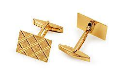 Zlaté manžetové gombíky IZ11211