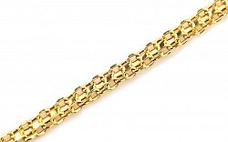 Zlatý dámsky náramok Bismark IZ4814