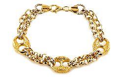 Zlatý dámsky náramok CAYANNE 6 IZ6146