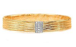 Zlatý dámsky náramok kolekcia Flexi IZ5420