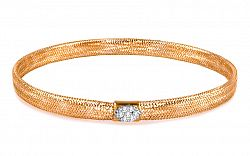 Zlatý dámsky náramok kolekcia Flexi IZ6155