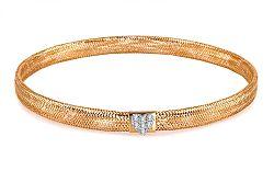 Zlatý dámsky náramok kolekcia Flexi IZ6156