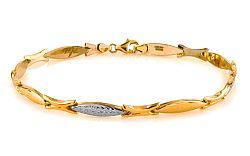 Zlatý dámsky náramok Laura 4 IZ6964