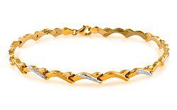 Zlatý dámsky náramok Lorette 9 IZ6959NK