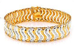 Zlatý dámsky náramok Monacella 1 IZ6877