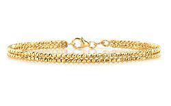 Zlatý dámsky náramok obručový yellow IZ9PA037