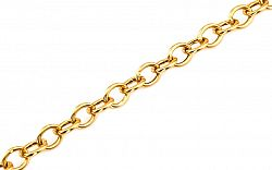 Zlatý dámsky náramok Rolo IZ9PA091