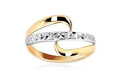 Zlatý dámsky prsteň Adela 2 IZ7366