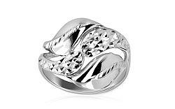 Zlatý dámsky prsteň Adela 5 white IZ7298