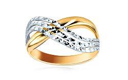 Zlatý dámsky prsteň Cenon 3 IZ6095