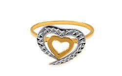 Zlatý dámsky prsteň Flair 2 IZ8607