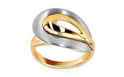 Zlatý dámsky prsteň Gonesse 3 IZ6107