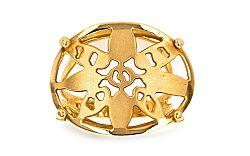 Zlatý dámsky prsteň Slnko IZ1624