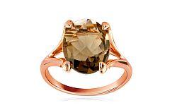 Zlatý dámsky prsteň so záhnedou Adeline IZ6218