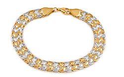 Zlatý elegantný náramok Monacella IZ6304