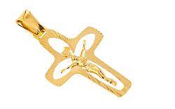 Zlatý krížik s umučením IZ6759