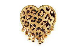 Zlatý leopardí prsteň IZ1305P