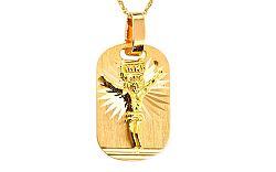 Zlatý medaión Ježiš Kristus IZ7611