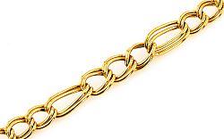Zlatý náramok 6 mm IZ7547