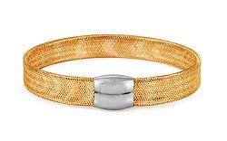 Zlatý náramok kolekcia Flexi dvojfarebný IZ10890