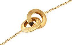 Zlatý náramok Loops 2 IZ9514NR