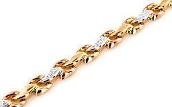Zlatý náramok Lorelei 7 IZ7193