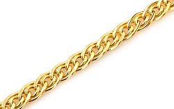 Zlatý náramok Nonna 4 mm IZ6831