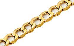 Zlatý náramok Pancier 8 mm IZ5246N