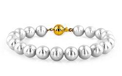 Zlatý náramok s perlami Letizia 3 PE127