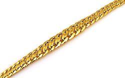 Zlatý náramok Snake gold 2 IZ8254