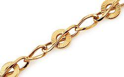 Zlatý náramok Valery IZ11426