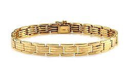 Zlatý pánsky náramok IZ11134