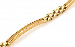 Zlatý pánsky náramok MAGNUS IZ5109