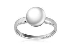 Zlatý perlový prsteň Inez 3 white PE15