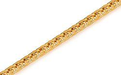 Zlatý plný náramok Fox IZ7805