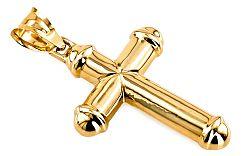 Zlatý prívesok krížik big IZ6490